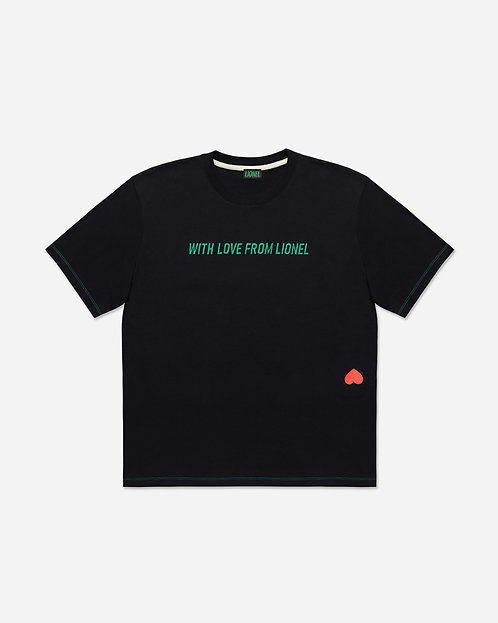 Black With Love From Lionel Tee