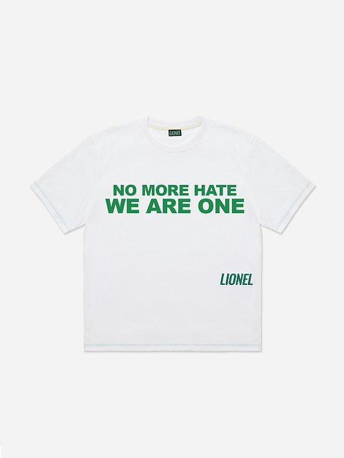 NO MORE HATE TEE **CHARITY**