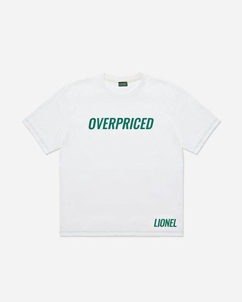 White Overpriced Tee