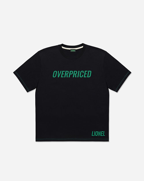 Black Overpriced Tee