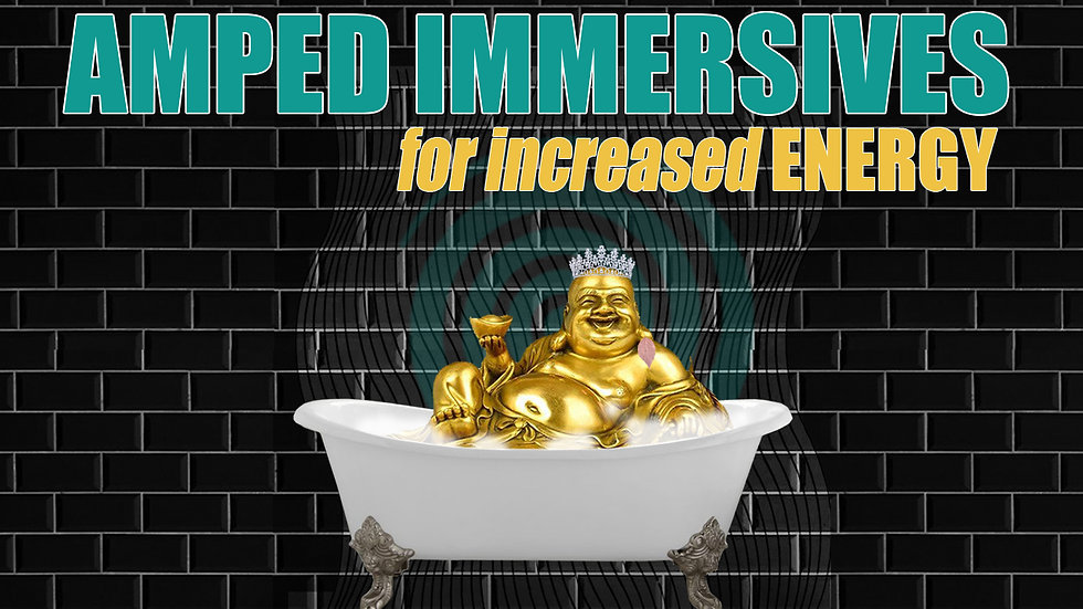 Barefoot Doctor's AMPED IMMERSIVE FOR INCREASED ENERGY