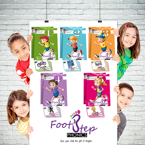 FootStep Phonics children