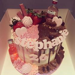 LOVE YOU 😍💖 half strawberry & nutella,