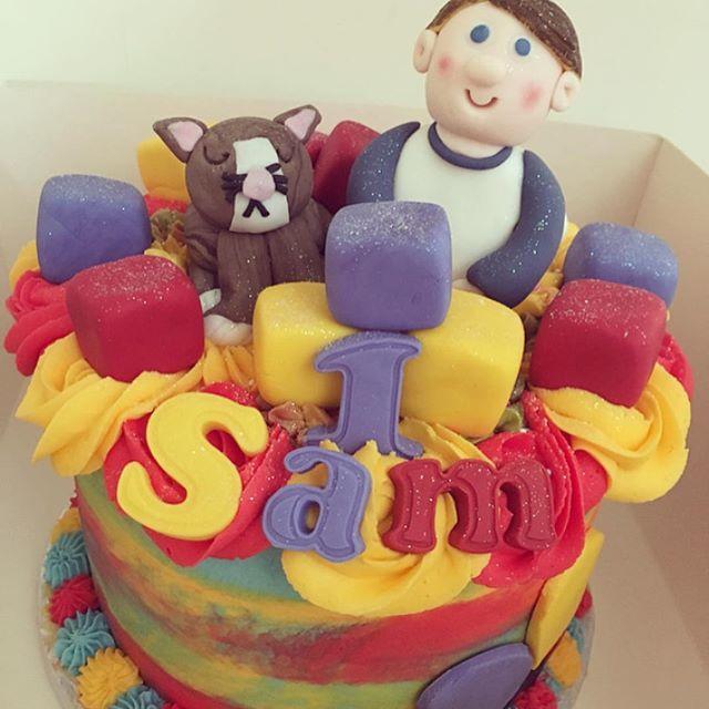Happy 1st birthday Sam 🎂🎈🐱_pandibakes