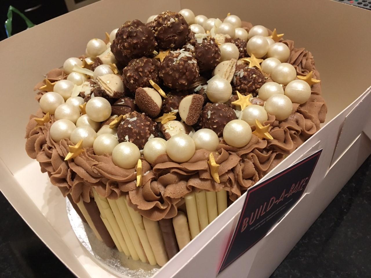 Custom Nutella & Ferrero cake
