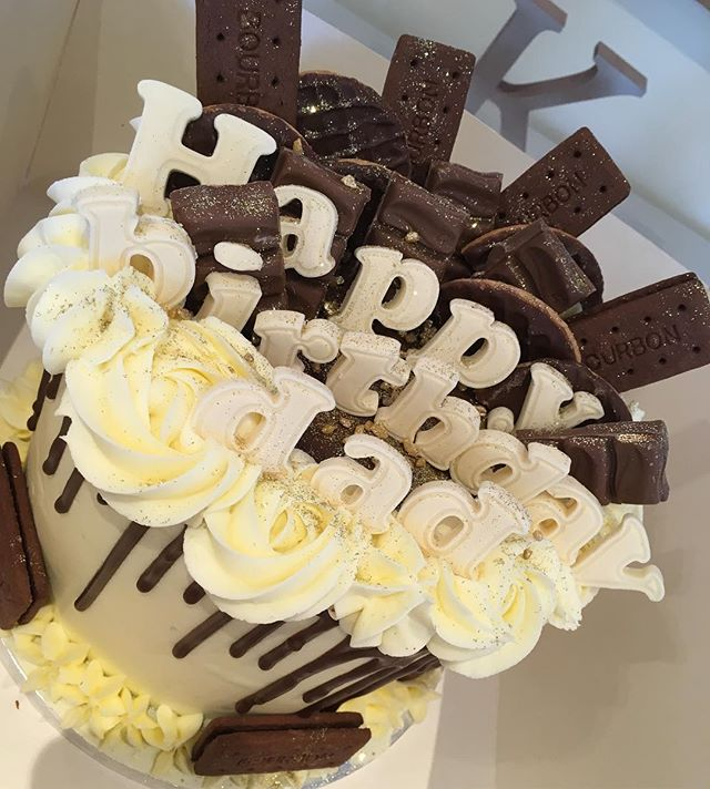 Birthday cake for a lover of bourbons, c