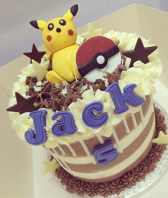 Jack's 5th birthday cake 💛🎂