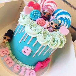 LOL doll cake for Emelia's birthday 🙊🎀