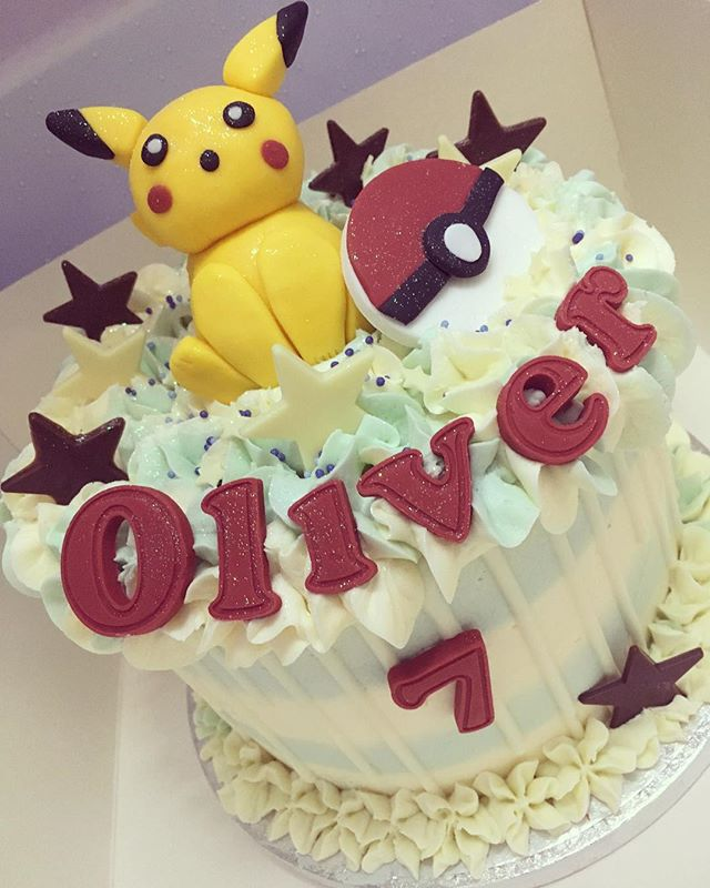 Oliver's 7th birthday cake 💙