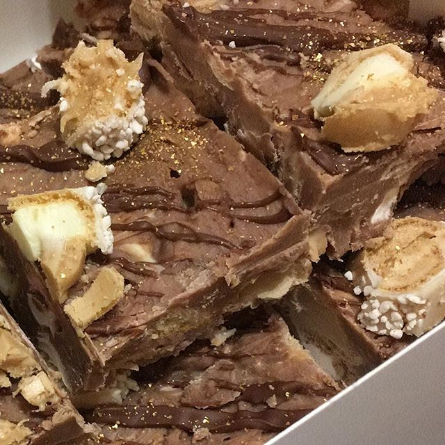 KINDER ROCKY ROAD will be with us tomorrow in Stocksfield 👅