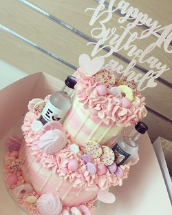 Looooove this little baby 2 tier cake fo
