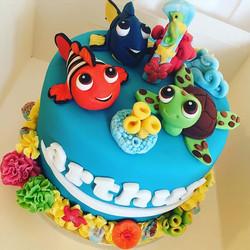 Arthur's first birthday cake..