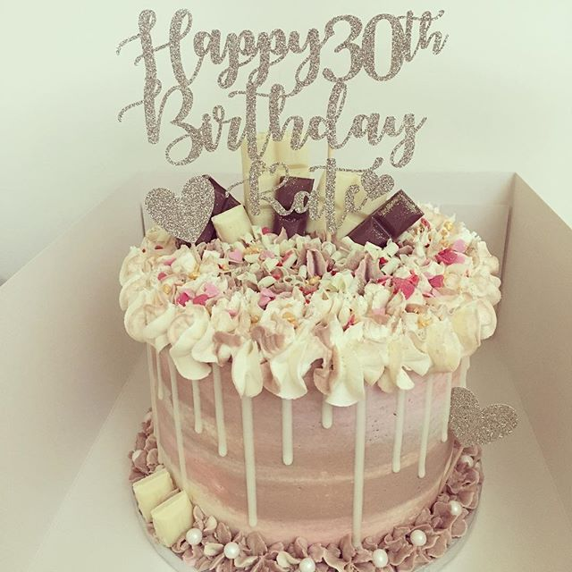 Kate's 30th birthday 😍🍰Coffee sponge w