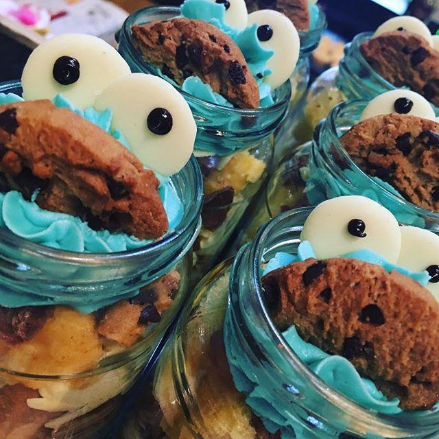 Cookie monster jars 😍🍪