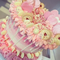 Life is full of sparkle & your cake shou