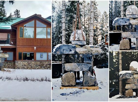 Inukshuk - in Banff, Canada
