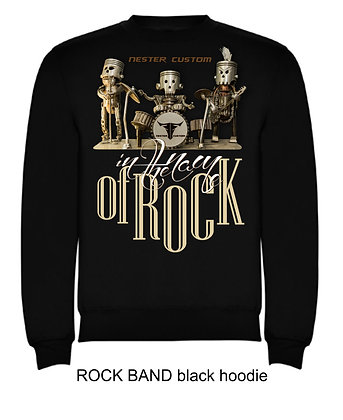 ROCK BAND woman hoodie