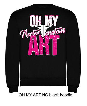 OH MY NC ART woman hoodie