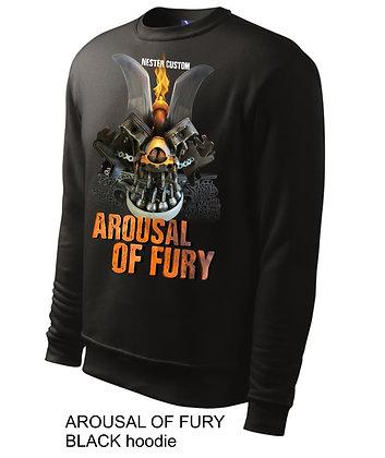 AROUSAL OF FURY man hoodie