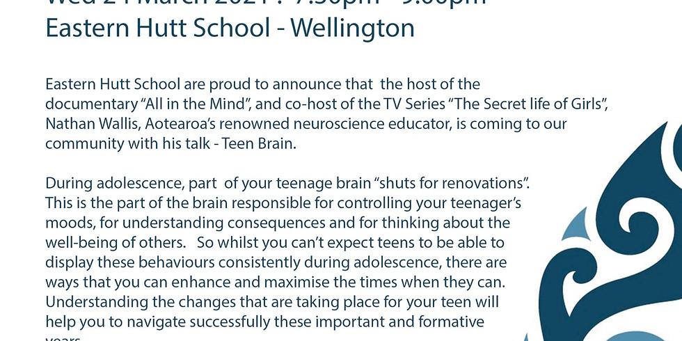 Nathan Wallis Understanding the Teen Brain