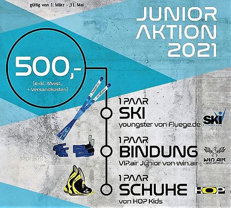 "Junior Aktion 2021 ""fluege.de youngster"" + VIP.air Junior + HOP Kids Boots"