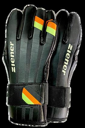 Ziener Skisprung-Handschuh black NEON  Germany / Jumping Gloves