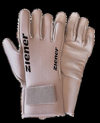 Ziener Skisprung-Handschuh white / Jumping Gloves
