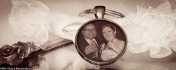 Photo Charm Key Ring Pendant