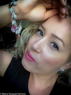 Beaded Photo charm bracelet