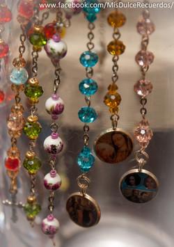 Mini Rosary w/ Photo Charm