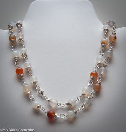 Earthtone beads