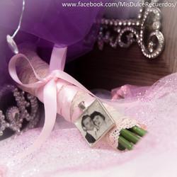 Bridal bouquet pendant