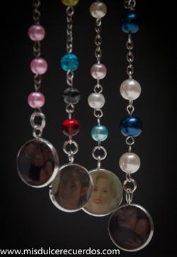 Mini Photo Charm Rosary