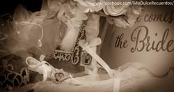 Wedding bouquet pendant