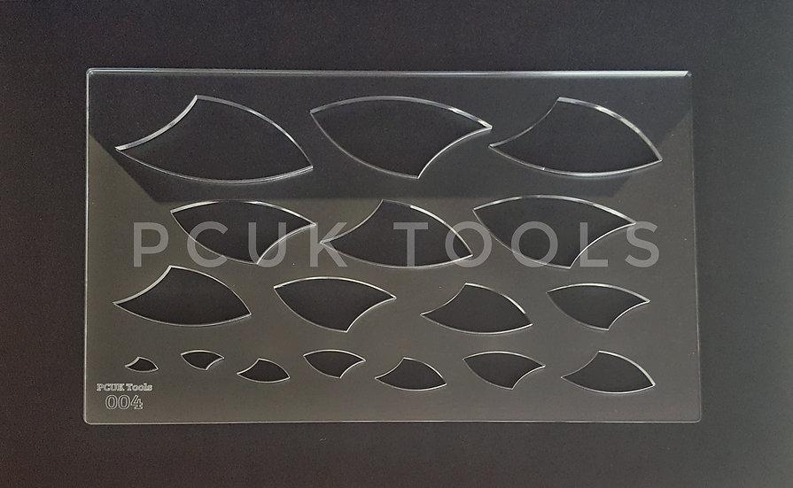 PCUK Tools 004 A4 Stencil/Template