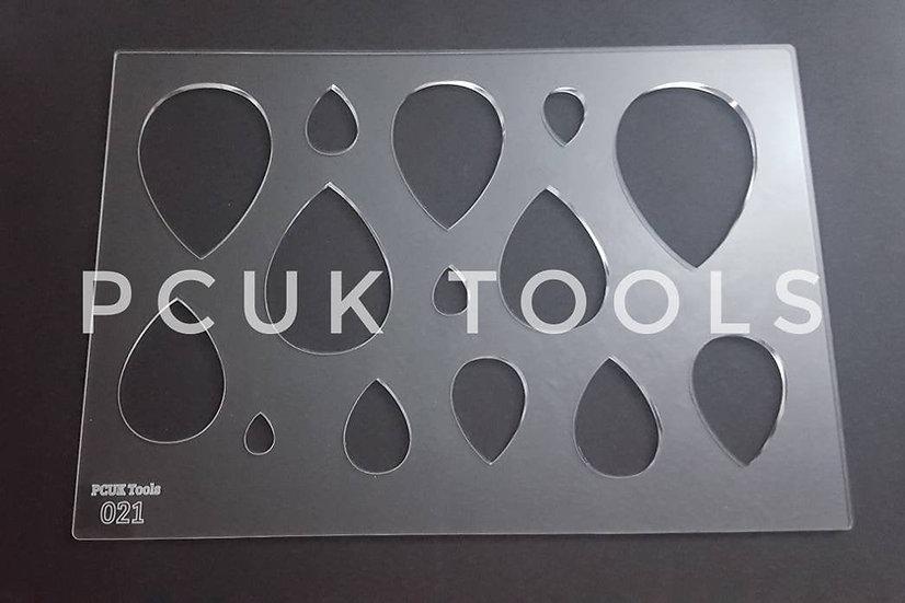 PCUK Tools 021 A4 Stencil/Template