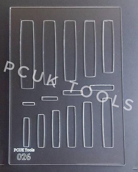 PCUK Tools 026 A5 Stencil/Template