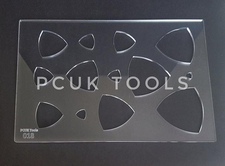 PCUK Tools 018 A4 Stencil/Template