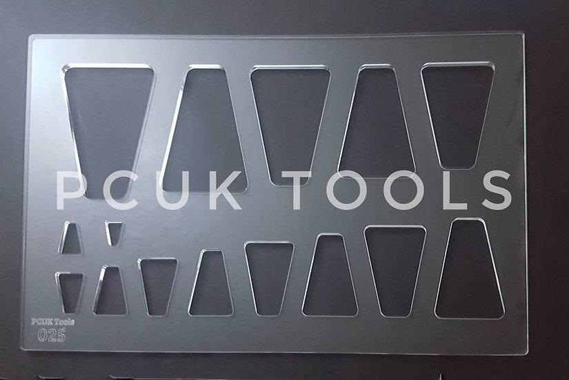 PCUK Tools 025 A4 Stencil/Template