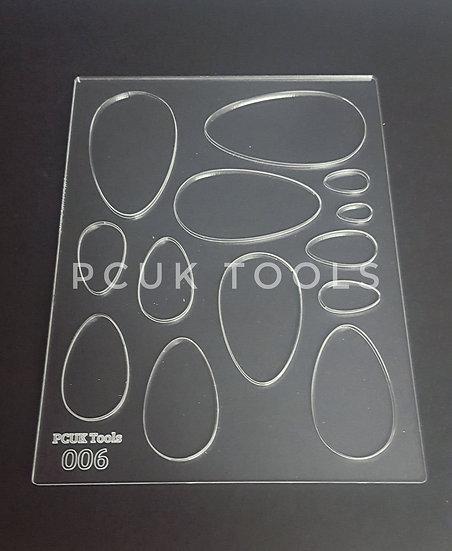 PCUK Tools 006 A5 Stencil/Template