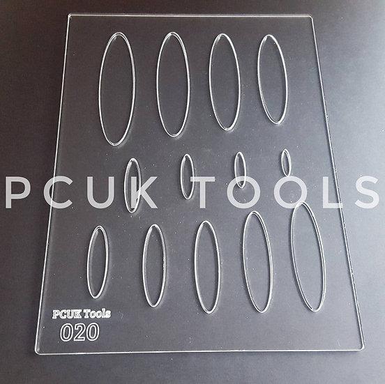 PCUK Tools 020 A5 Stencil/Template