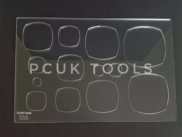 PCUK Tools 016 A4 Stencil/Template