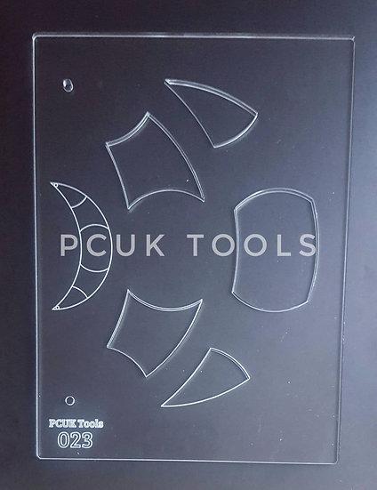 PCUK Tools 023 A5 Stencil/Template