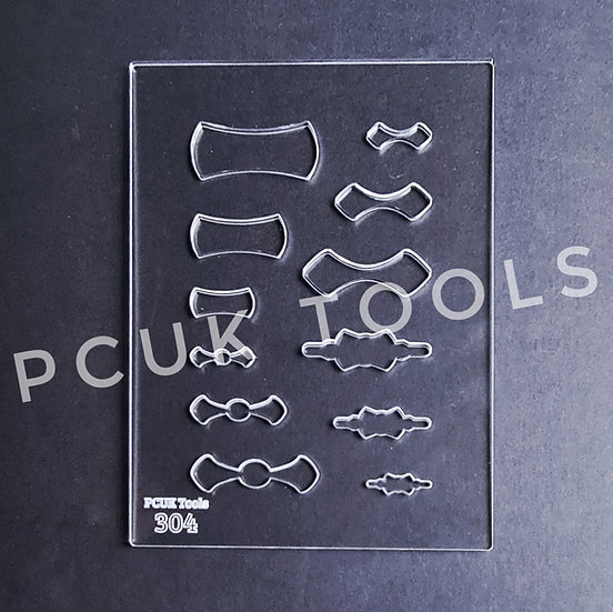 PCUK Tools 304 Bails Stencil/Template