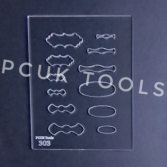 PCUK Tools 303 Bails Stencil/Template
