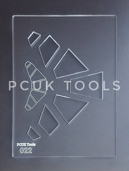 PCUK Tools 022 A5 Stencil/Template