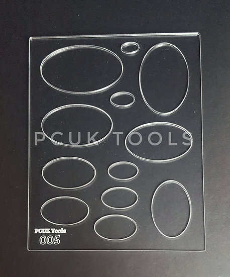 PCUK Tools 005 A5 Stencil/Template
