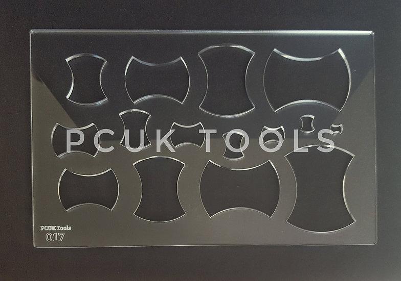 PCUK Tools 017 A4 Stencil/Template