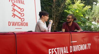 Entretien avec Maud Le Pladec pour Grensgeval (Borderline)