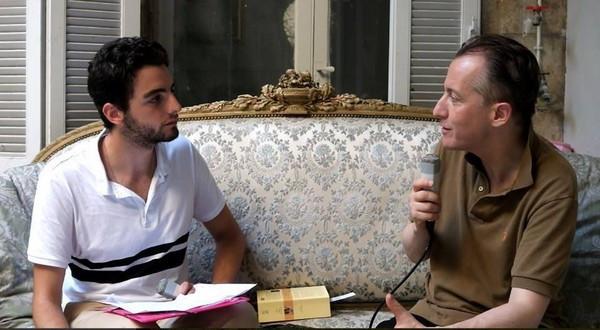 Entretien avec Christophe Barbier pour Nous Présidents et le Dictionnaire Amoureux du Théâtre